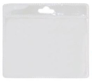 Port legitimatie plastic transparent 8cmx11cm